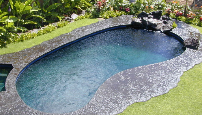 Residential swimming pools hawaii for Custom inground swimming pools