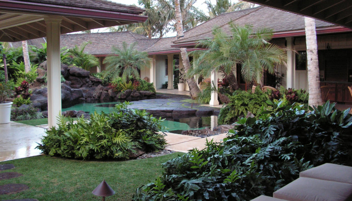 Residential hardscapes, walkways, sidewalks, lanai decks, pools, etc.
