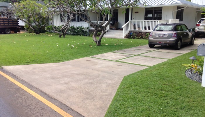 Affordable, quality concrete driveways and sidewalks