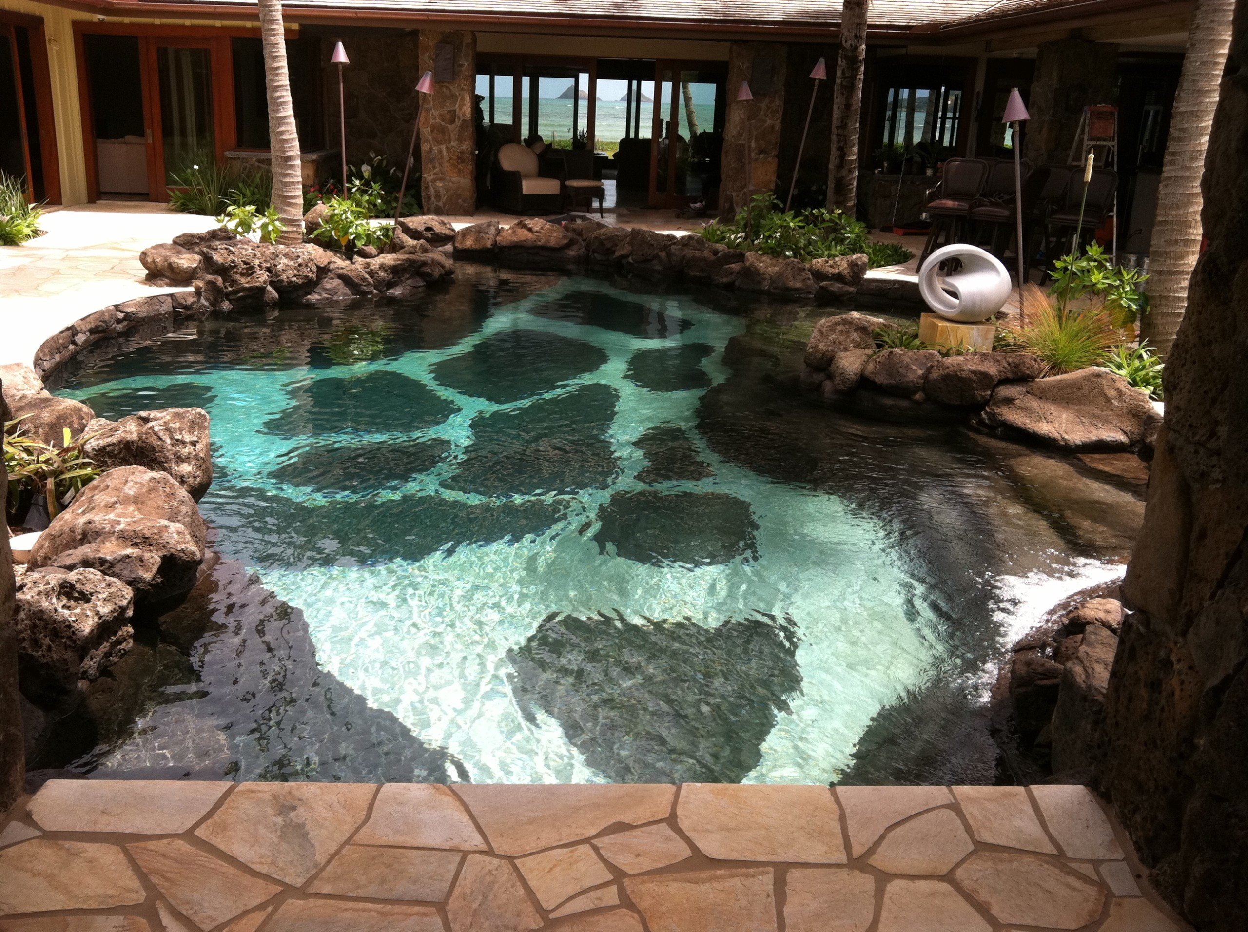 Swan builders international contractors serving hawaii for Local swimming pool companies