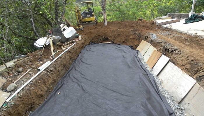septic leach fields