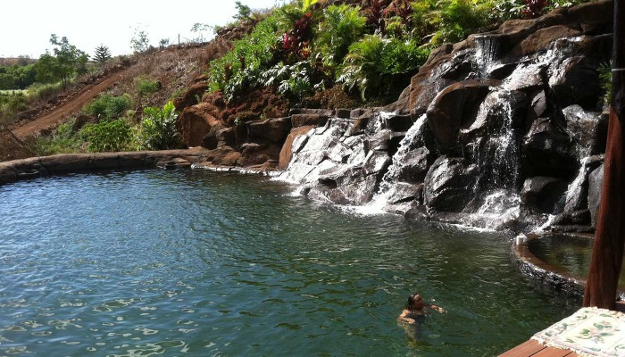 home swimming pools in Wailua